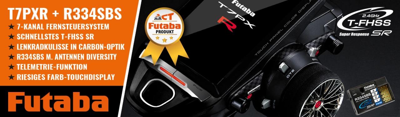 FUTABA T7PXR 2.4GHz + R334SBS