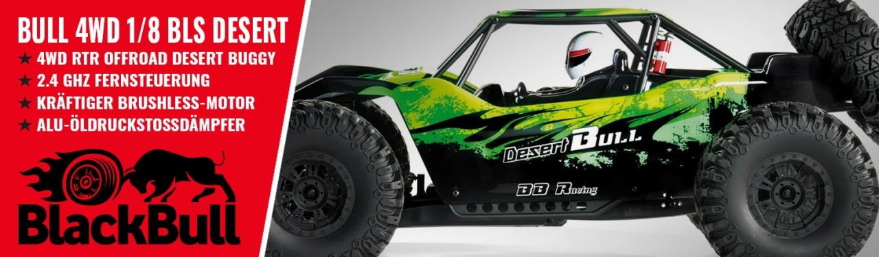 BULL DESERT BRUSHLESS 1:8
