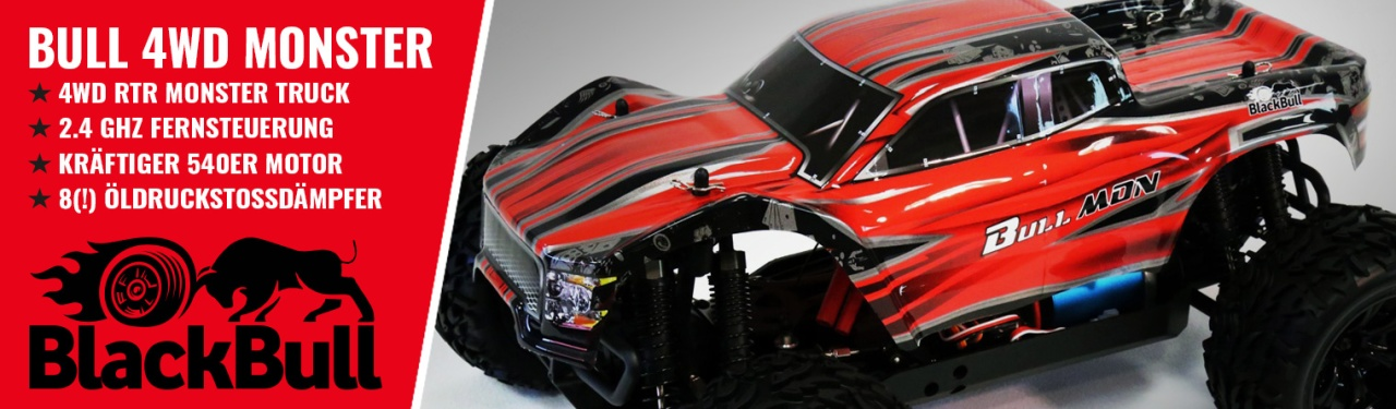 BULL 4WD EP Monster-Truck 1:10