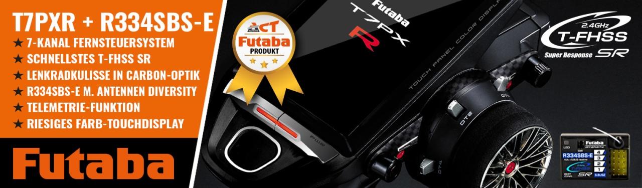 FUTABA T7PXR 2.4GHz + R334SBS-E