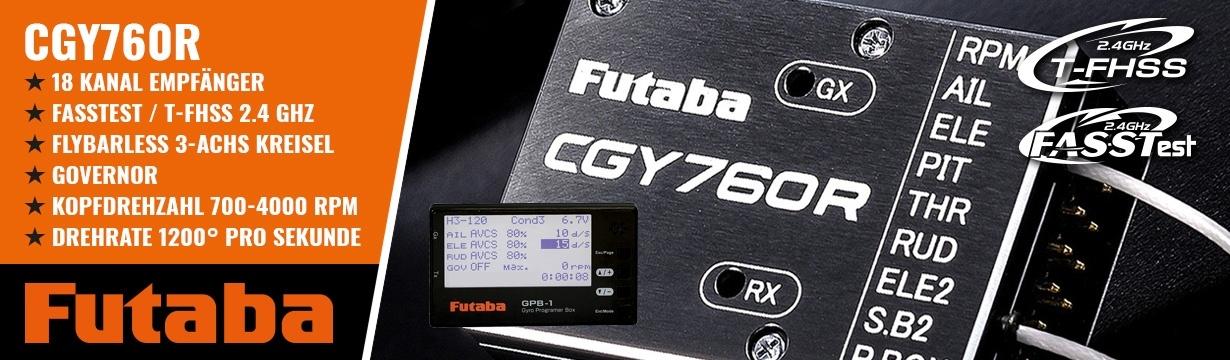 FUTABA CGY760R Kreiselempfänger